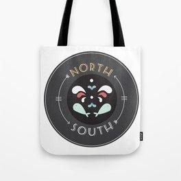 North and South Tote Bag