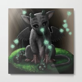 Trico (トリコ, Toriko) - The Last Guardian Metal Print