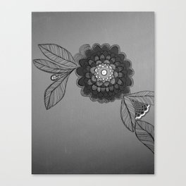 floral one Canvas Print