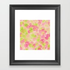Colorful Bubbles Framed Art Print