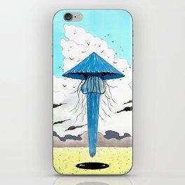 Méduse volante #3 iPhone Skin