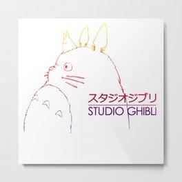 studio ghibli inspired Metal Print