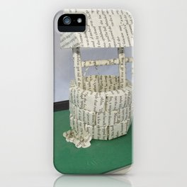 Wishing Well iPhone Case
