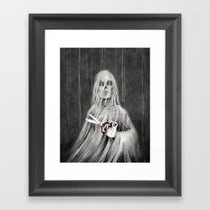 La Mort / Death Framed Art Print