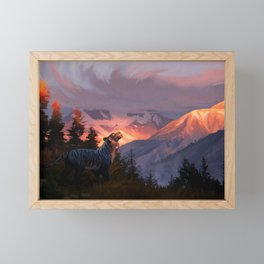 After the Rain Framed Mini Art Print