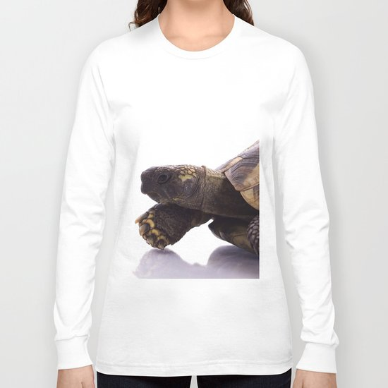 Greek land tortoise Long Sleeve T-shirt