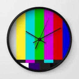 No Signal Found Wall Clock