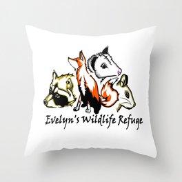 Wildlife Rescue Throw Pillow