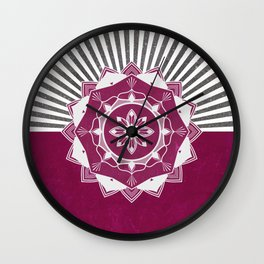 Don't Mess With Your Rising Sun Wall Clock