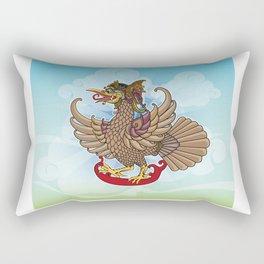 'Jatayu' or Eagle on the story of the Ramayana Rectangular Pillow