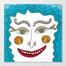 ocean dude Canvas Print