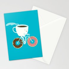 Coffee and Donuts Stationery Cards