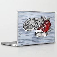 converse Laptop & iPad Skins featuring Converse Shoes by Slish