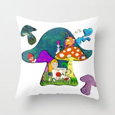 alice #2 Throw Pillow