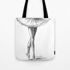 Ballerina - Ashley Rose Tote Bag