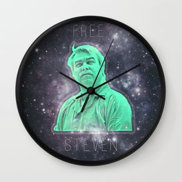 Free Steven-5 Wall Clock