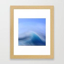 Surreal Waves 3 Framed Art Print
