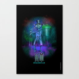 Hat Box Ghost by Topher Adam Canvas Print