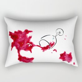 "Somm into the bottle chapter 6 ""The New World"" Rectangular Pillow"