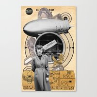 technology Canvas Prints featuring Target Technology by Ira Carter