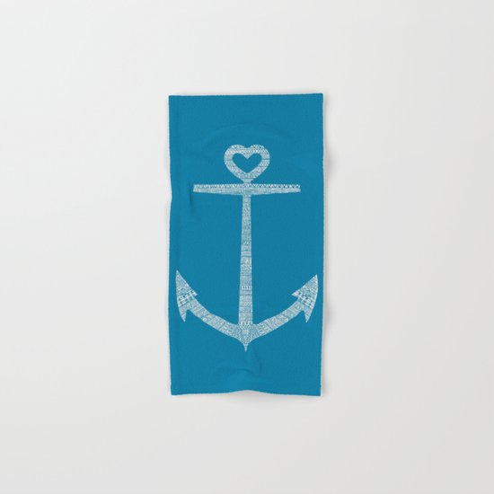 Love is the anchor Hand & Bath Towel