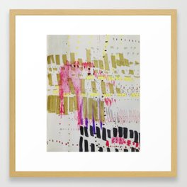 Map To Morocco (Refined Series 9) Framed Art Print