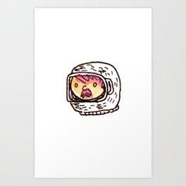 Astronautical Art Print
