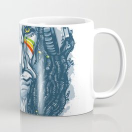 Lion with Dreadlocks Coffee Mug