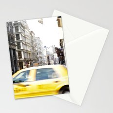Yellow Cab Stationery Cards