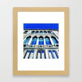 Venezia / Così cado nel cielo Framed Art Print