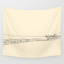 Sullivan's Island Sunset Wall Tapestry