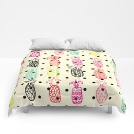 Tropic Pineapple Comforters
