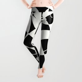 Curves And Contrast Leggings