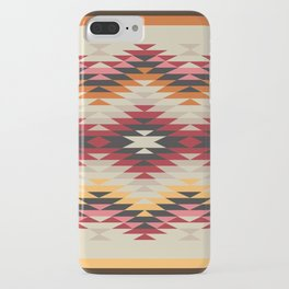 American Native Pattern No. 178 iPhone Case