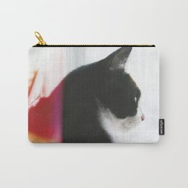Pondering Cat Carry-All Pouch