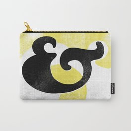 Goudy Stout Ampersand Carry-All Pouch