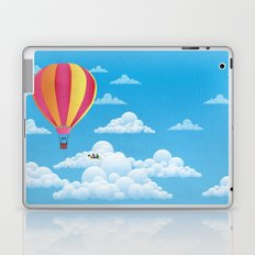 Picnic in a Balloon on a Cloud Laptop & iPad Skin