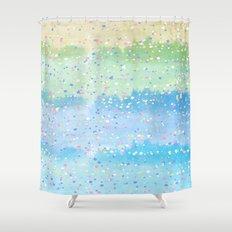 Spring Splatter Shower Curtain