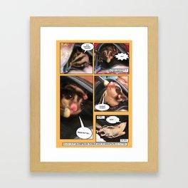 Glidertales Issue 1 - 2 of 2 Framed Art Print