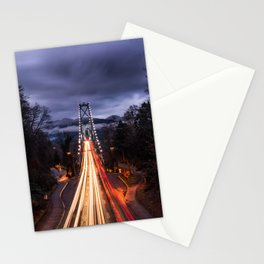 Lions Gate Bridge Stationery Cards