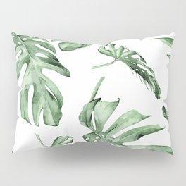 Monstera Pattern Green #society6 #buyart Pillow Sham