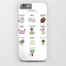 Ann, You Beautiful... iPhone Case