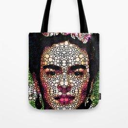 Frida Kahlo Art - Define Beauty Tote Bag