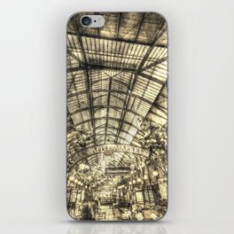 The Apple Market Covent Garden London Vintage iPhone Skin
