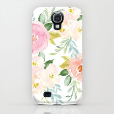 Floral 02 Galaxy S4 Slim Case