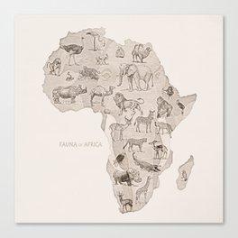 Africa (Fauna) Canvas Print