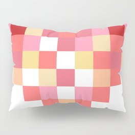 Squares of Love Pillow Sham