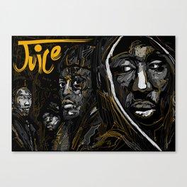 Juice 1992 Tribute Gold version Canvas Print