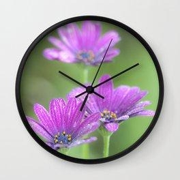 Comos Flowers Wall Clock