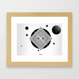 Interlink'in Framed Art Print
